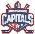 Summerside Western Capitals logo embroidery design