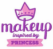 Makeup inspired by princess