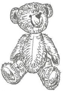Old bear toy 5