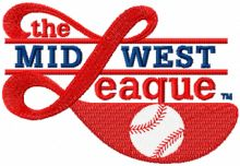 Minor League Baseball*s Midwest League logo