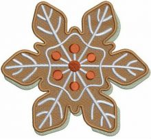 Brown snowflake