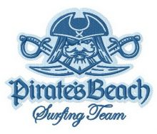Pirate's beach Surfing team 2