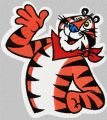 Tony the Tiger embroidery design
