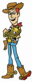 Brave Woody machine embroidery design
