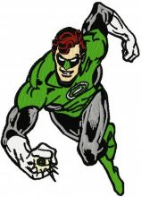 Green Lantern attacks
