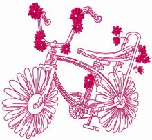 Chamomile bicycle 2