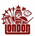 London 4 embroidery design