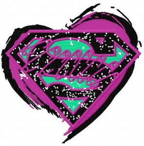 Supergirl's heart open
