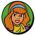 Daphne Blake embroidery design