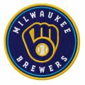 Milwaukee Brewers 2020 Primary logo embroidery design
