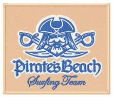 Pirate's beach Surfing team