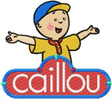 Caillou with logo
