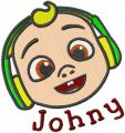 Baby Johny embroidery design