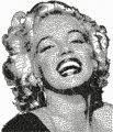 Marilyn Monroe free embroidery design