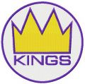 Seattle Kings 2014 logo embroidery design