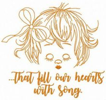 That fill our hearts with song
