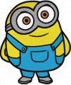 Minion Bob  embroidery design