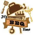 It's BBQ time embroidery design