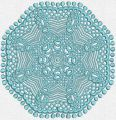 Lace doily 8 embroidery design