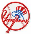 New York Yankees logo embroidery design