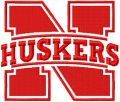 Nebraska Cornhuskers Primary logo embroidery design