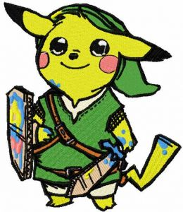 Pikachu warrior