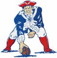 New England Patriots embroidery design