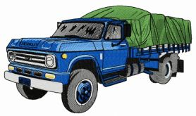Chevrolet D60 car 2 machine embroidery design