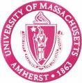 University of Massachusetts at Amherst Logo embroidery design