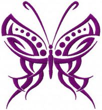 Tribal Butterfly 2