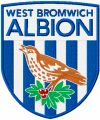 West Bromwich Albion Football Club logo embroidery design