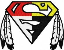 Native Superman logo