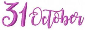31 october free embroidery design 2