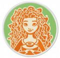 Merida embroidery design