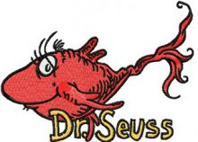 Dr. Seuss Fish 1