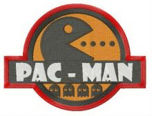 Pac-Man badge