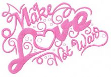 Make love not war 2
